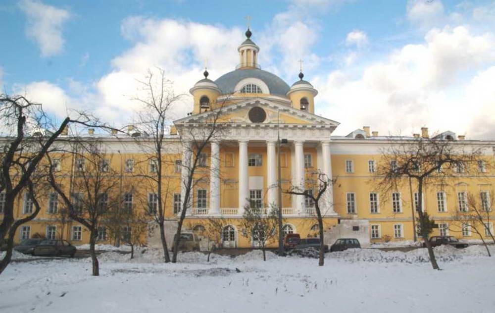Голицынская больница - ныне 1-я градская