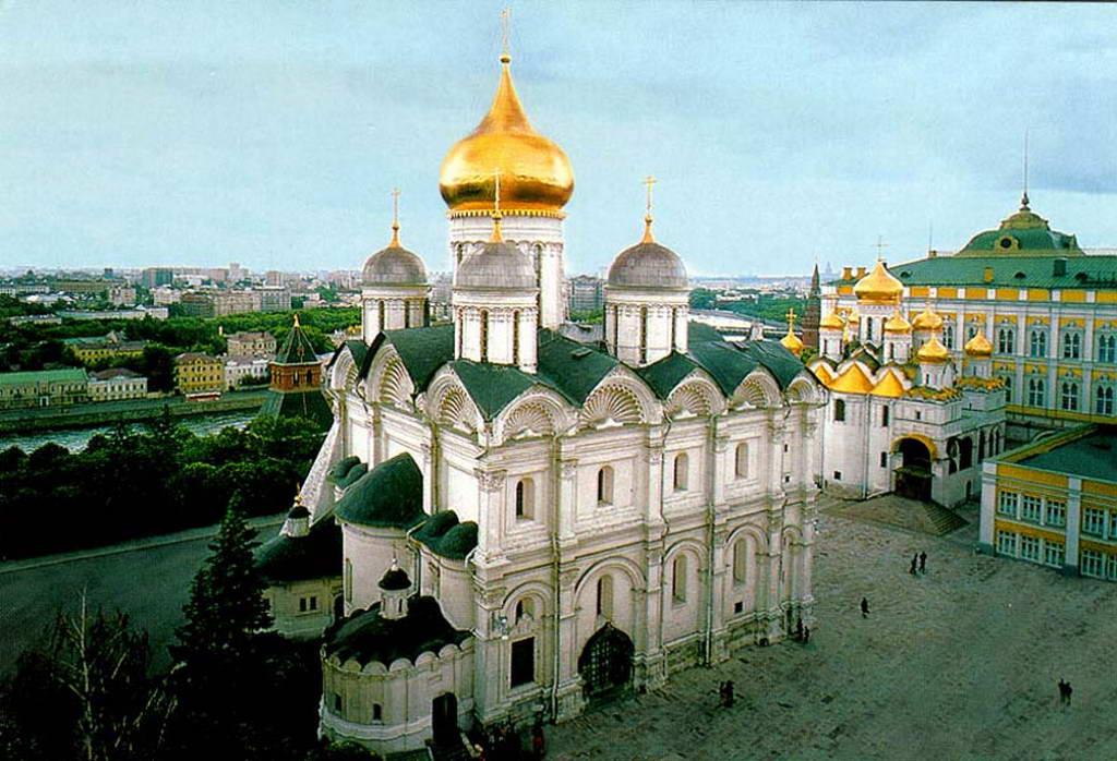 фото архангельский собор московского кремля